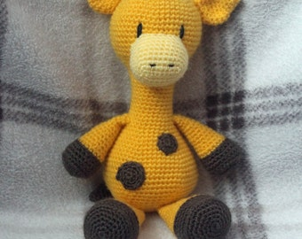 Geoffrey the Giraffe crochet toy
