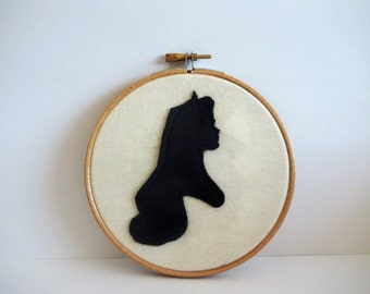 Disney Sleeping Beauty Inspired Embroidery Hoop