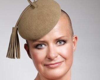 Harper - Smartie style headpiece with oversized tassel trim