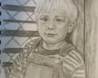 Custom Graphite Pencil Portrait~ People