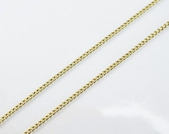 "Antique Gold Filled Chain 21.25"" Inch Gold-filled for gold filled jewelry making Item#789222022778"