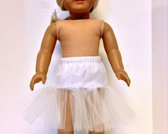 18 Inch Doll Clothes, 1950's Crinoline, Slip,Petticoat