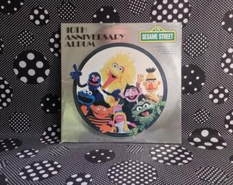 Sesame Street~10th Anniversary Album~Muppet's Inc.~1978~Children's Television Workshop