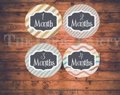 Baby Monthly Stickers ,baby month stickers,baby month stickers boy,baby month stickers girl,printable baby month stickers