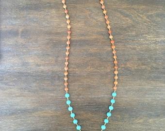 Texas Summer Tusk Necklace