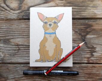 Chihuahua Note Pad