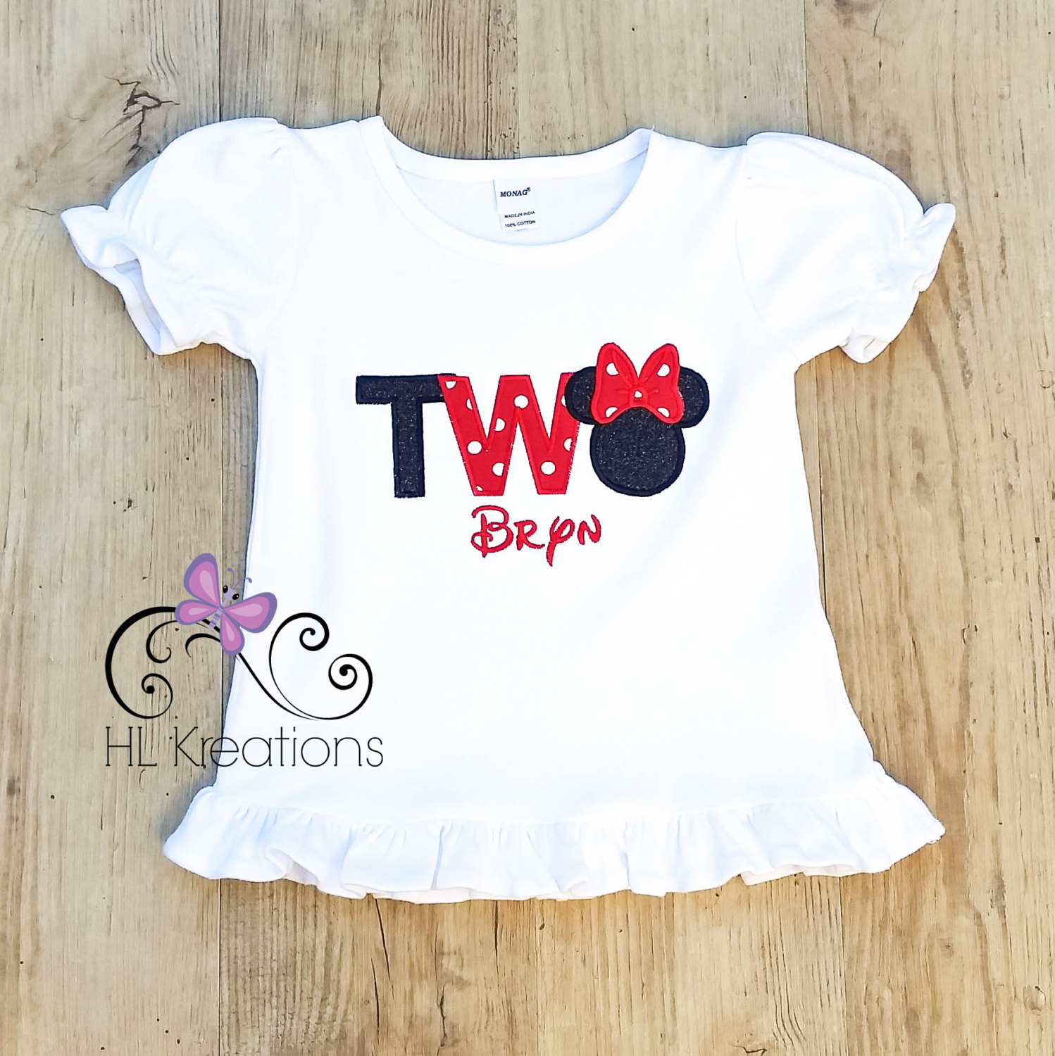 Minnie Mouse Birthday Shirt Two Minnie Mouse Birthday Shirt