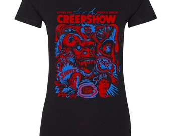 Creepshow horror movie tshirt (color variations)