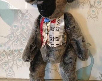 Meet Michael. A handmade, designer bear