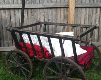 Antique Goat Cart Late 1800's