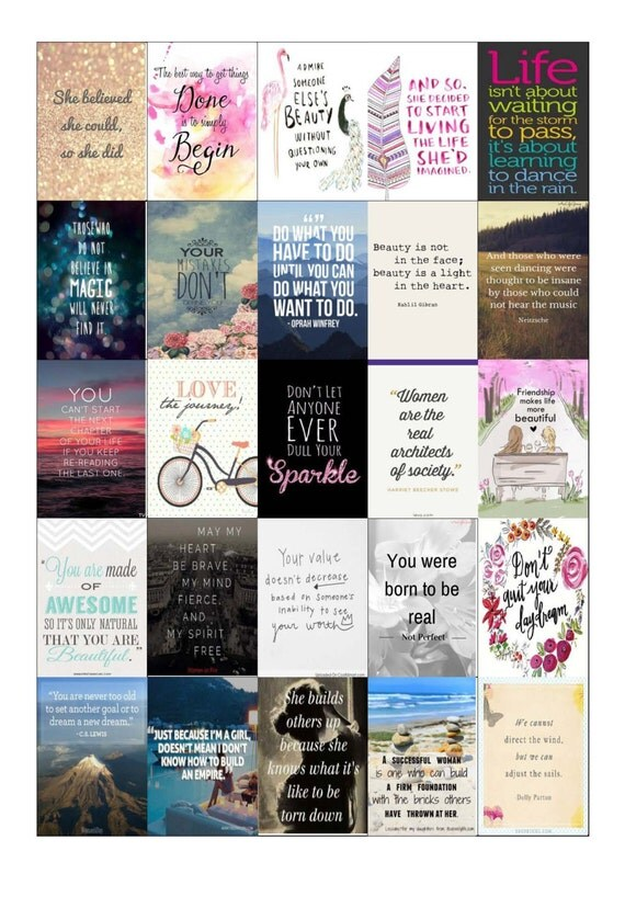 Inspirational Planner Stickers-Compatible With Most Planners