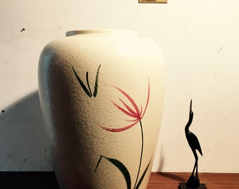 SCHEURICH Ground vase hand-painted Made in Germany 50th of 60th • nice present •vintage