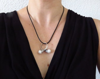 """Shop """"pearl ring"""" in Necklaces"""