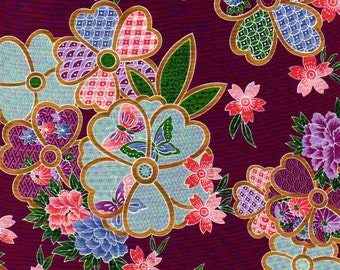 Kona Bay Fabrics - 1 yd - Asian Theme