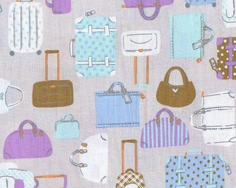 Purses, Bags, Totes and Luggage -1 yd-  Lecien