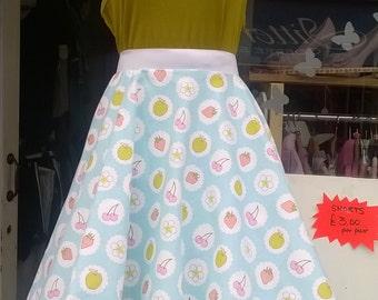 Beautiful 1950s/60s vintage inspired full circle skirt