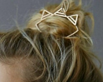 Vintage star hair stick.Hairpin.