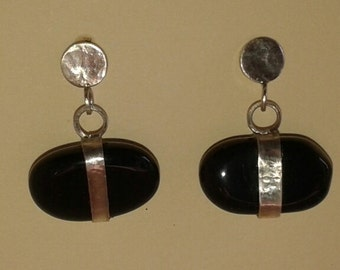 Onyx Sterling Silver earrings