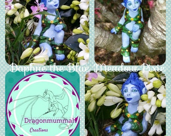 Daphne the Blue Meadow Pixie