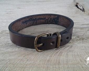 Bracelet, handmade, leather bracelet, gift for him, gift for her, unisex, handmade, personalized, simple bracelet