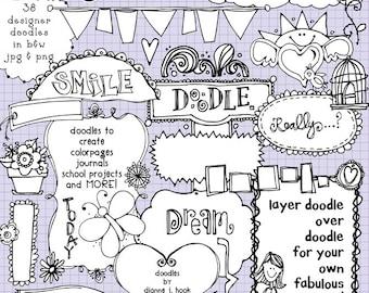 Just Doodles Clip Art Download