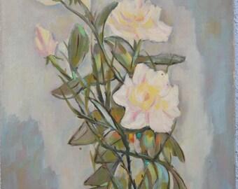 still life painting ,flowers