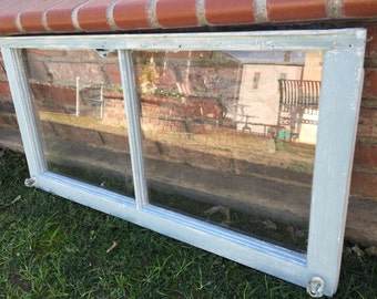 Shabby Chic Distressed Glass Window Frame