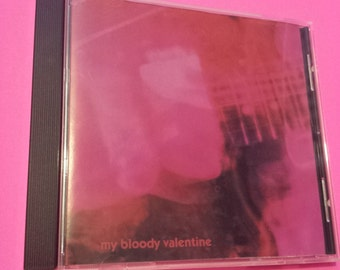 My Bloody Valentine: Loveless - CD shoegaze music band alt-rock rock audio cassette tape vinyl compact disc the 90s '90s 90's 1990s nineties