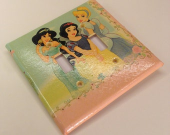 Princess Switch Plate Cover - Double - Switchplate