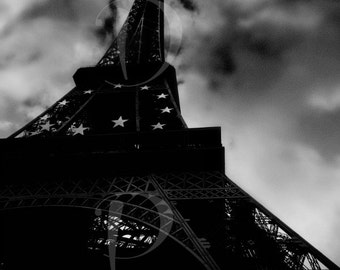 The Eiffel Tower , Tour Eiffel , Fine Art Photography , Wall Art ,  Paris , France , City of lights , Europe