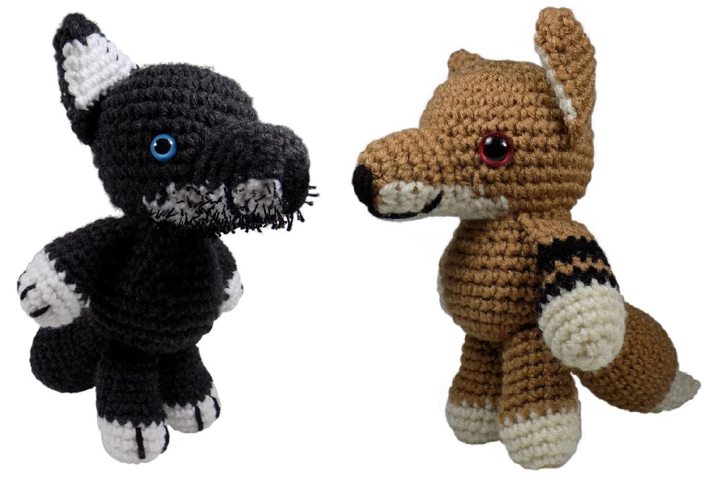 Amigurumi Wolf Pattern : Amigurumi Wolf Crochet Pattern