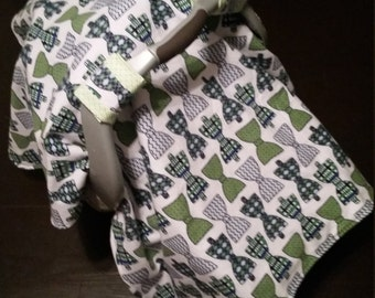 Bowtie Baby Carseat Cover