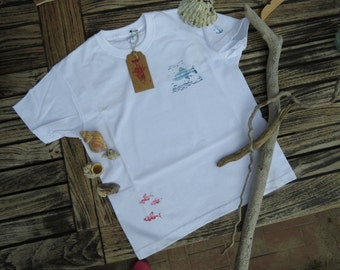 Children T-Shirt with maritime motifs, size 116