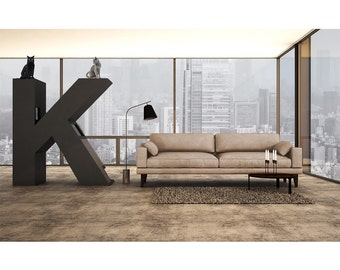 Type interior cat furniture / tree KletterLetter letter K
