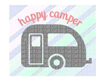 "Shop ""happy camper"" in Craft Supplies & Tools"