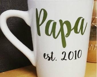Papa - Custom Coffee Mug