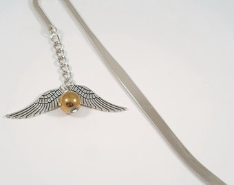 Golden Snitch Harry Potter Bookmark