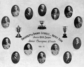 1918-19 University of Toronto Hockey Team