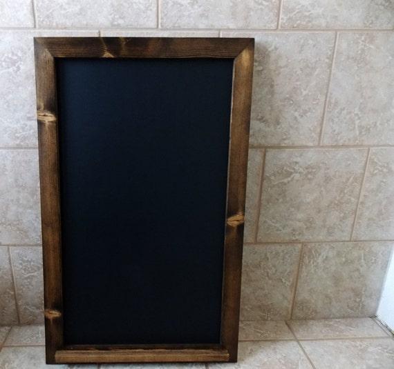 Large Chalkboard Wood Framed Chalkboard By FurnishedbyFrassati