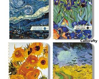 Van Gogh Art Notebook Starry Night Vintage Notebook