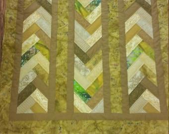 Unique Batik Art Quilt