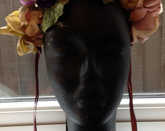 Handcrafted Floral Headpiece