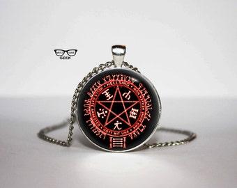 Hellsing Necklace, Alucard's symbol pendant, Hellsing Art Gifts, for Her, for him