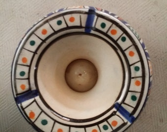 Moroccan handmade Ceramic Ashtray
