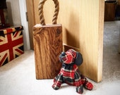Oak Doorstop - Gift For Dad - Gift For Him - Door Stop - Door Stopper - Country Home Decor - Country Decor - New Home Gift - Home gift