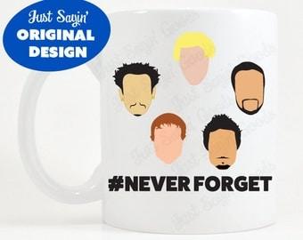 Backstreet Boys | Never Forget | Coffee Mug