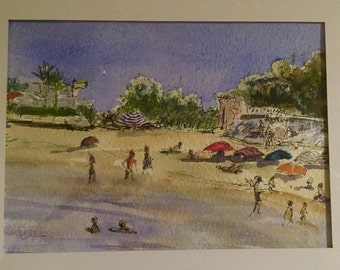 La Plage (The Beach) - Theoule sur Mer by Miranda Markham
