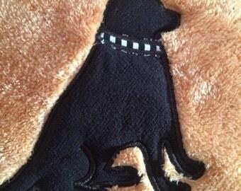 Labrador Fleece Dog Blanket