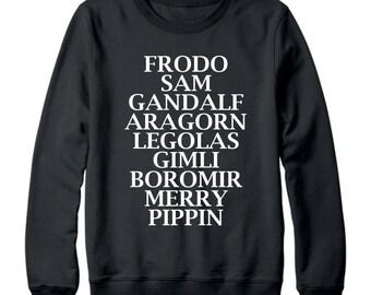 LOTR Sweatshirt (Fellowship of the Ring/Lord of the Rings Sweatshirt)