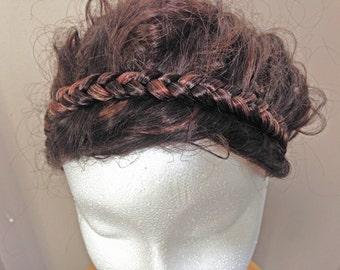Braided Headband, Braided Headpiece, Hair Accessories, Boho Headpiece, Wedding Hairpiece, Hippie Headband